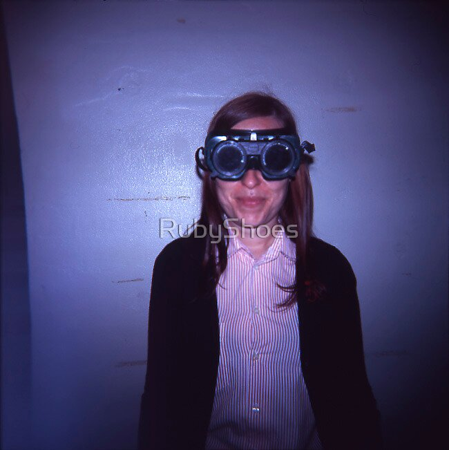 Sarah in Goggles.  by RubyShoes