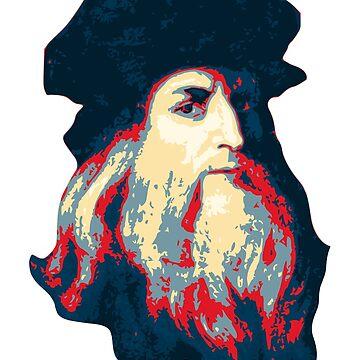 Leonardo Da Vinci by idaspark