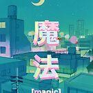 Mahou 魔法 Nacht Anime Sky von PeachPantone