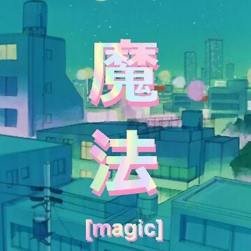 Mahou 魔法 Night Anime Sky de PeachPantone