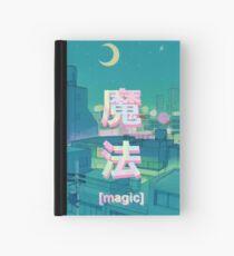 Mahou 魔法 Night Anime Sky  Hardcover Journal
