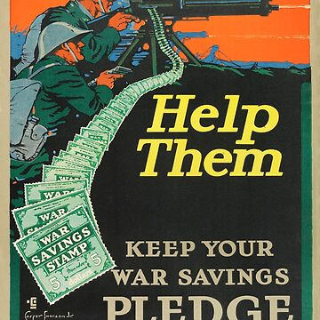 Vintage Wartime poster by Geekimpact