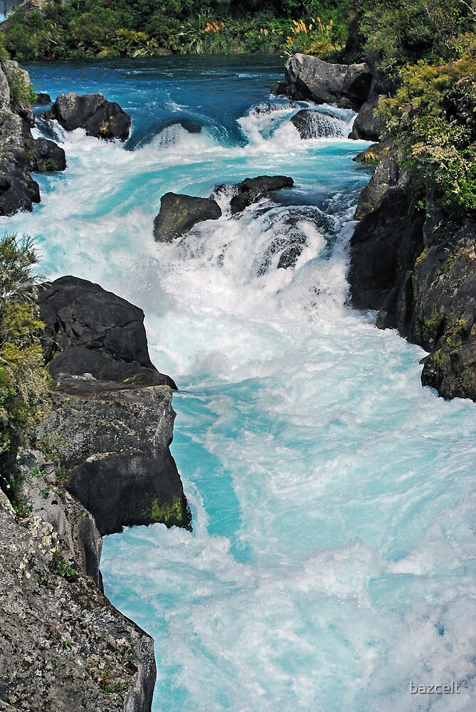 Wild Waters, Aratiatia Rapids by bazcelt