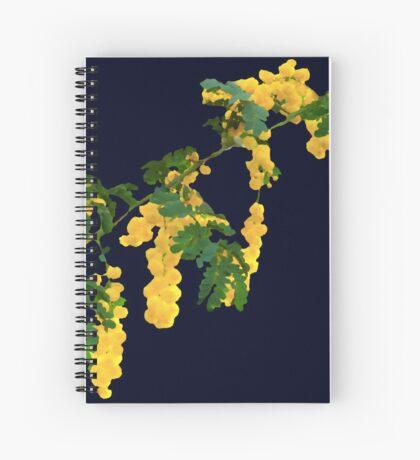 Wattle Fever - Navy Spiral Notebook