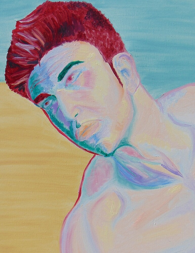 Man with Red hair by barbaraengel