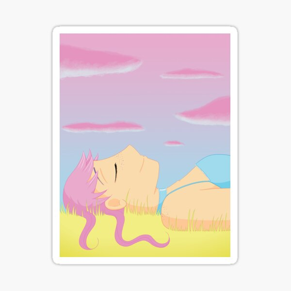 Companions - Relaxed Plum Sticker