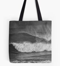 slotted in mono Tote Bag
