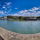 Shem Creek Pano by TJ Baccari Photography