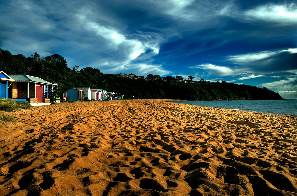 Tranquil ,Mt Martha Beach,Melbourne by Max R Daely