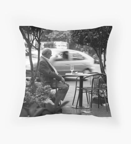 One more beer I think Throw Pillow