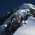 Summit of Aiguille Verte by John Gaffen