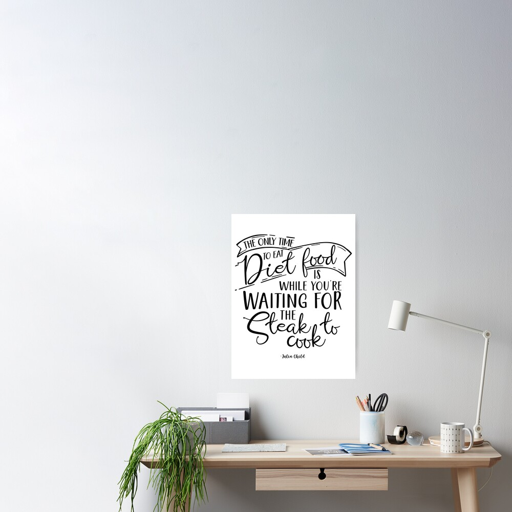 Kitchen Wall Decor Sign For Art Design Gift Print Poster By Myquotegift Redbubble