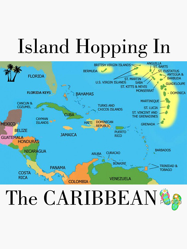 Island Hopping in the Caribbean by Pam069