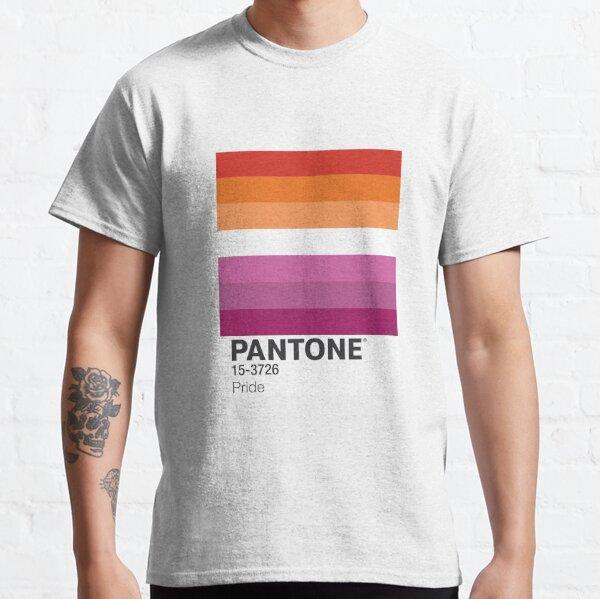PANTONE PRIDE - LESBIAN Classic T-Shirt