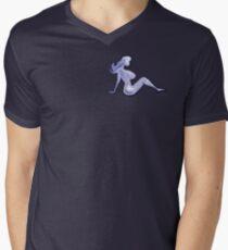 Mudflap Babe Pocket Tee Men's V-Neck T-Shirt