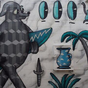 Street Art Mural by urbanfragments