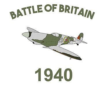 Battle of Britain 1940 Spitfire by miniverdesigns