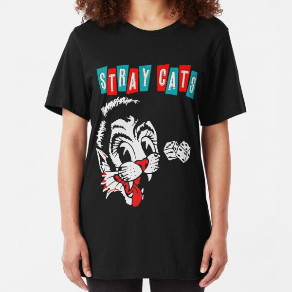 Stray Cats Slim Fit T-Shirt