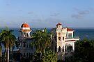 Valle's palace, bay of Jagua, Cuba by David Carton