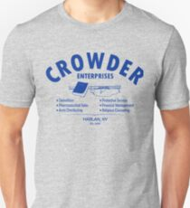 Crowder Enterprises (Blue) Slim Fit T-Shirt