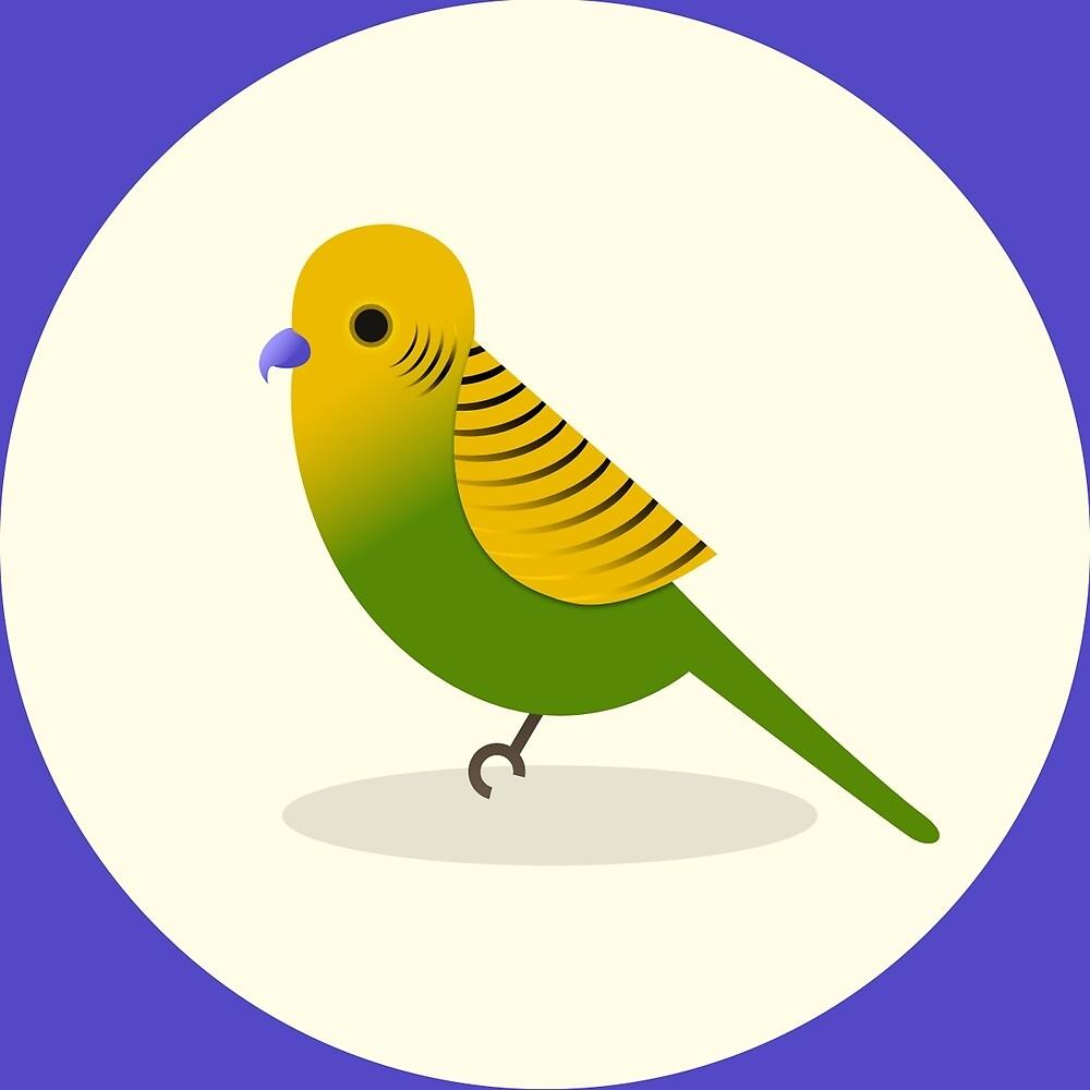 Parakeet by Megan Prior-Pfeifer