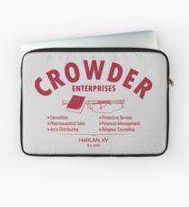 Crowder Enterprises (Maroon) Laptop Sleeve
