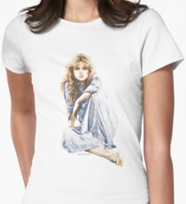 """""""Hippy Girl"""" by Sara Moon Women's Fitted T-Shirt"""