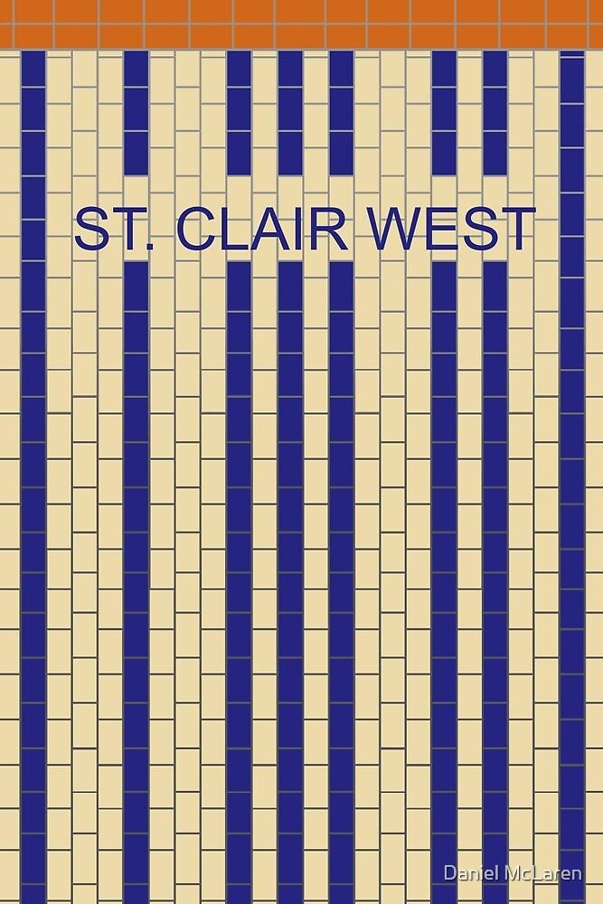 ST. CLAIR WEST Subway Station by Daniel McLaren