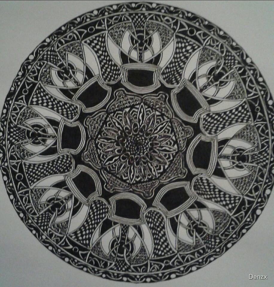 mandala 2 by Denzx