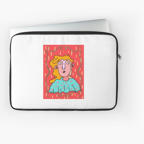 A Portrait of Holly Laptop Sleeve