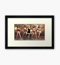 You might as well face it, you're addicted to love Framed Print