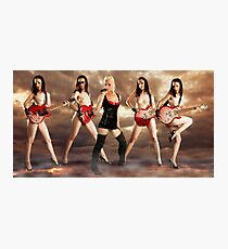You might as well face it, you're addicted to love Photographic Print