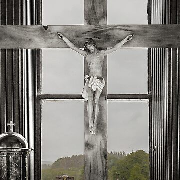 Christ on the cross by HaleyRedshaw