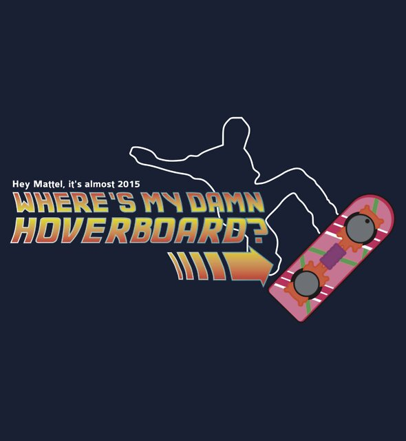 Where's my damn hoverboard by Alx West