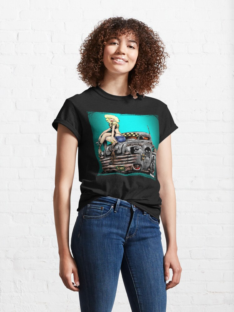 Alternate view of SHOP TRUCK Classic T-Shirt