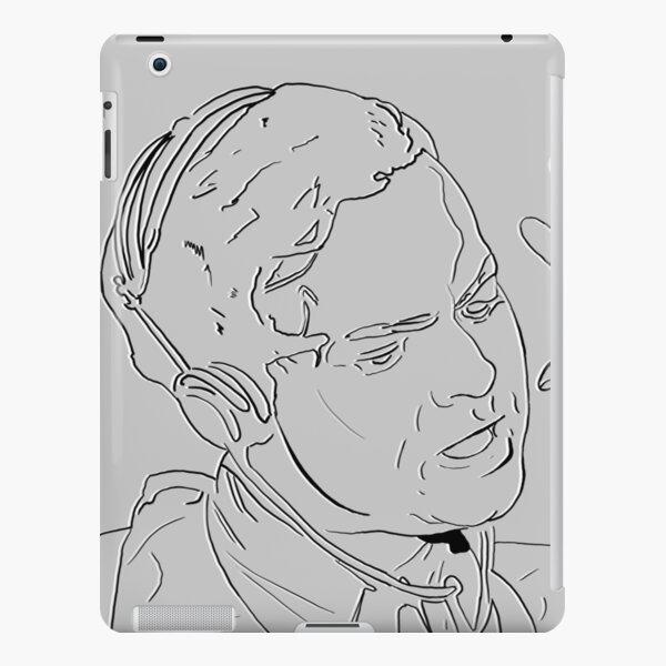 Orson Wells is on the Radio iPad Snap Case