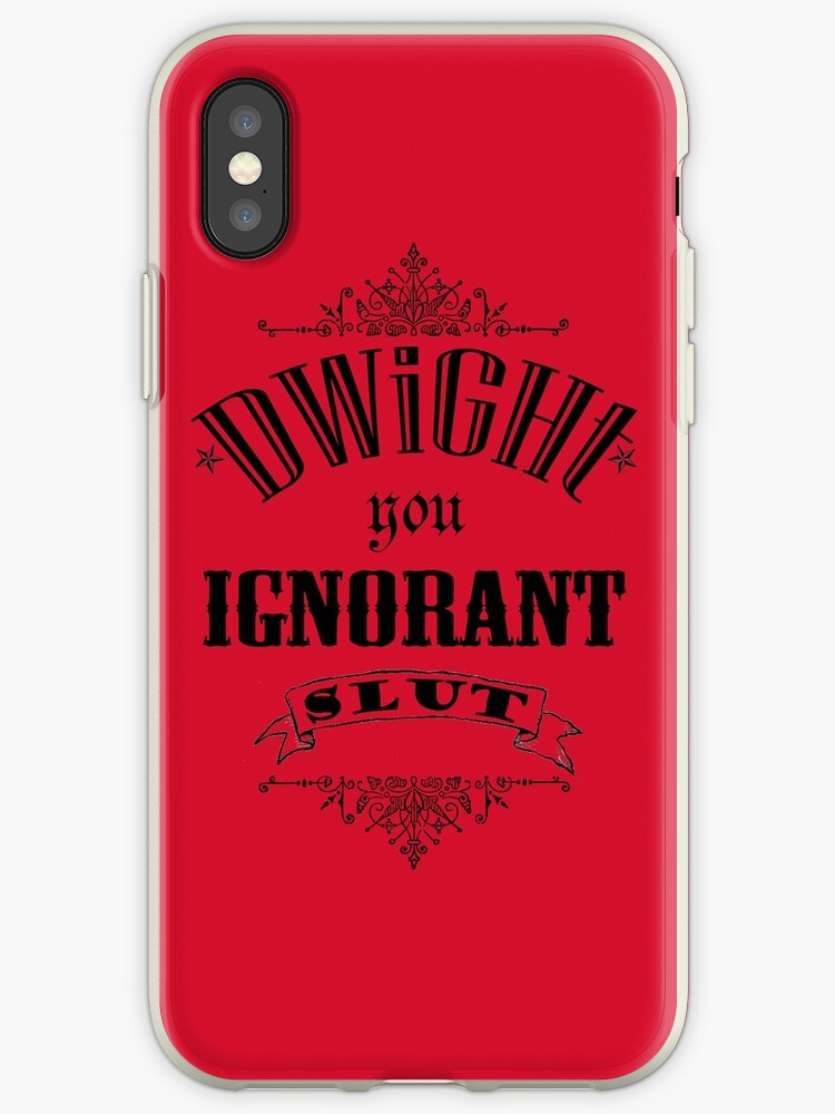 You Ignorant Slut - Red by pickledbeets