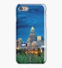 charlotte nc skyline iPhone Case/Skin