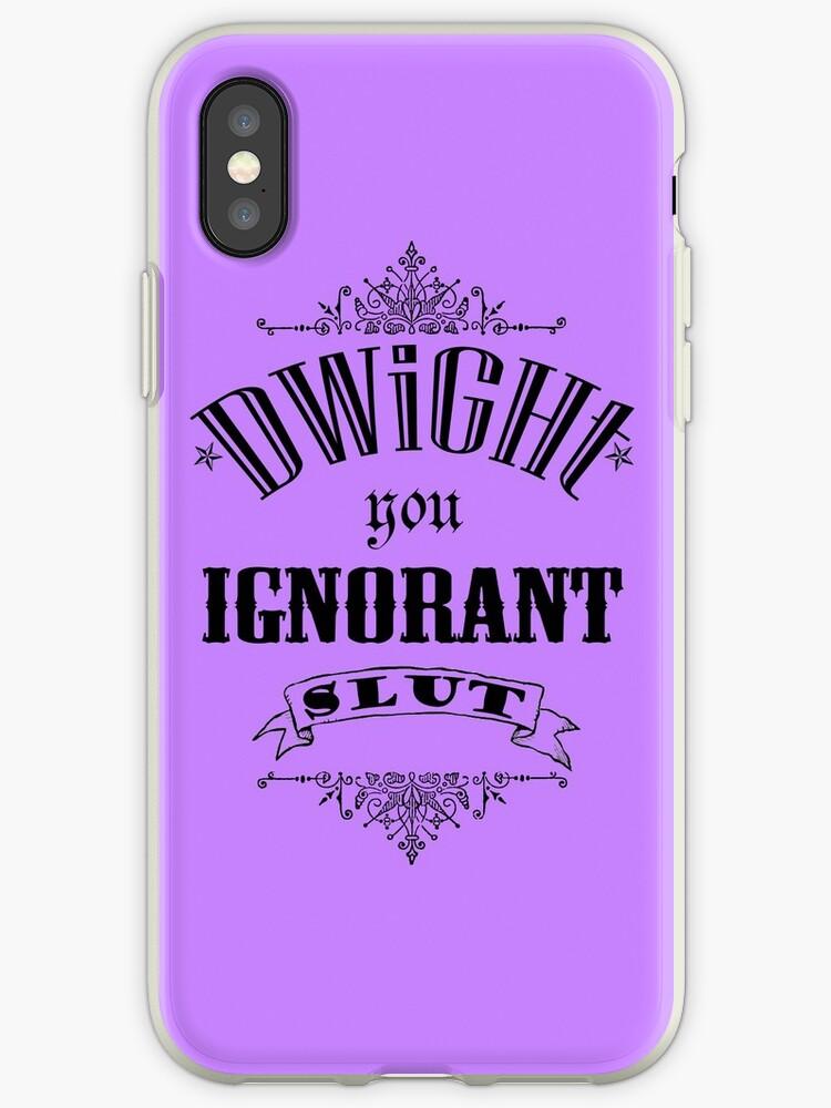 You Ignorant Slut - Purple by pickledbeets