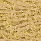 Golden Leopard Print || Kraft + Gold by SoNifty