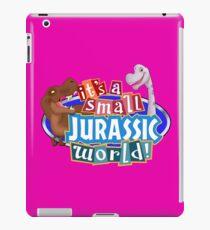 It's a Small Jurassic World (Logo w dinos) iPad Case/Skin