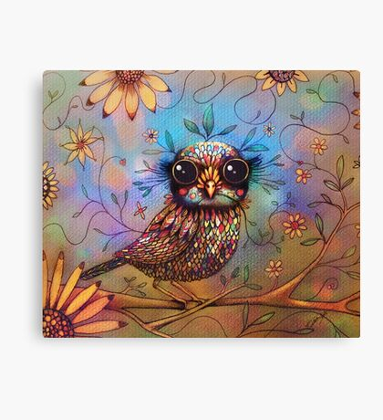 little love bird Canvas Print