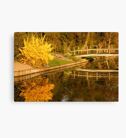 Spring Morning Reflections Canvas Print