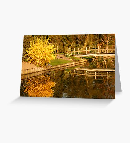 Spring Morning Reflections Greeting Card