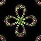 «Ouroboros, nudo celta, serpiente, infinito» de Anne Mathiasz