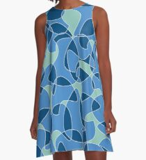 Over and Over pattern A-Line Dress