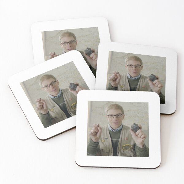 Joe Pera Shows You Iron Coasters (Set of 4)