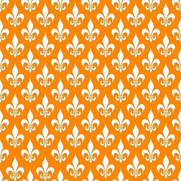 Fleur-de-Lis: Orange by MilitaryCandA