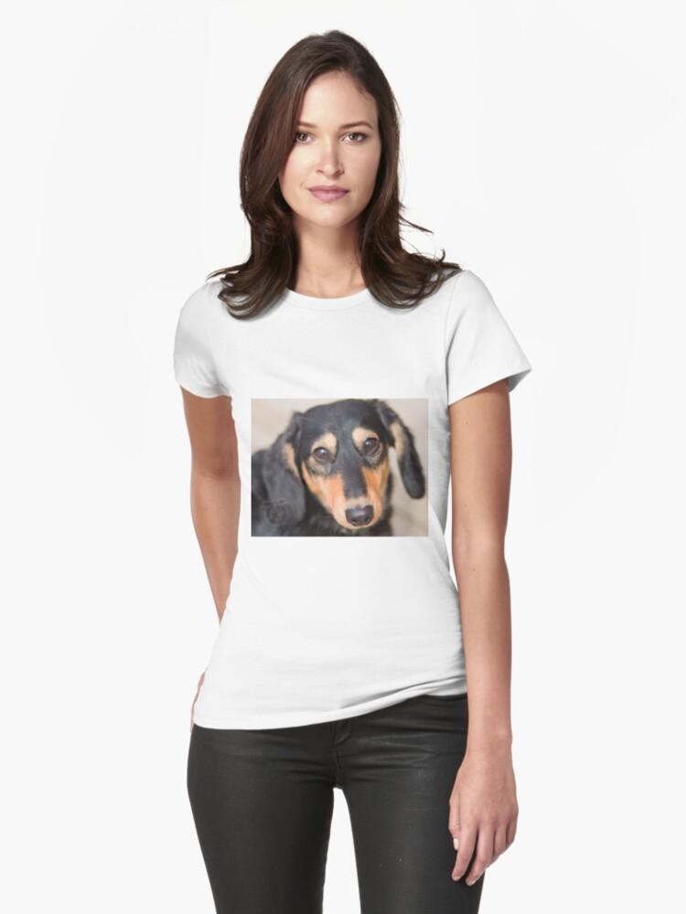 Dog Womens T-Shirt Front