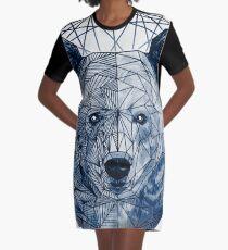 Geometric bear Graphic T-Shirt Dress
